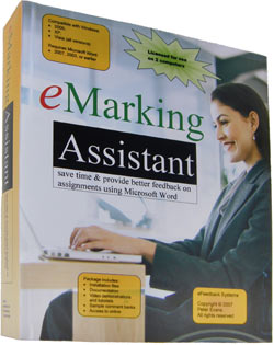 eMarking Assistant grading system for teachers